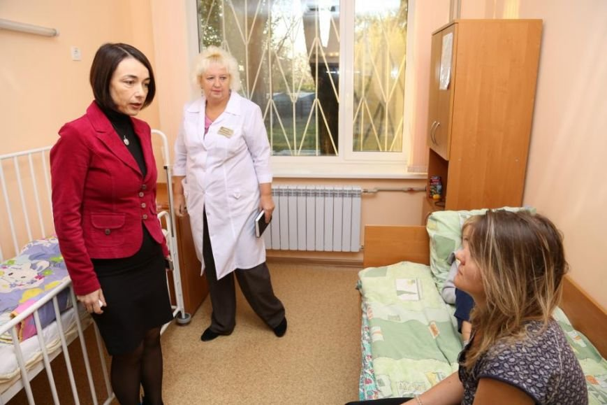 В 2017 году году Кременчугская детская больница будет центральным объектом внимания городской власти, фото-1