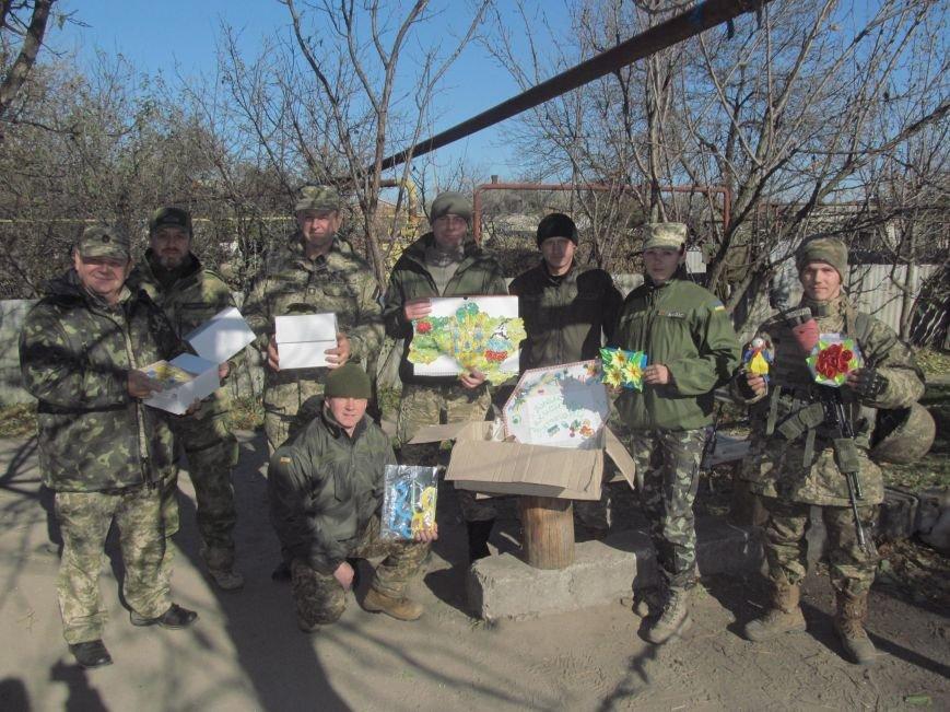 Защитники Станицы Луганской получили от детей  и волонтеров Украины посылки (ФОТО), фото-1