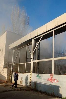"В Херсоне у ТРЦ ""Фабрика"" пожар (фото), фото-2"