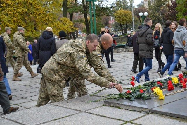 28 жовтня у Кам'янці відзначили День визволення від фашистських загарбників, фото-1
