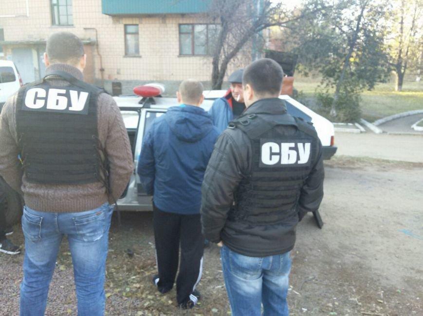 СБУ задержала на взятке инспектора дорожной полиции Кировоградщины, фото-1
