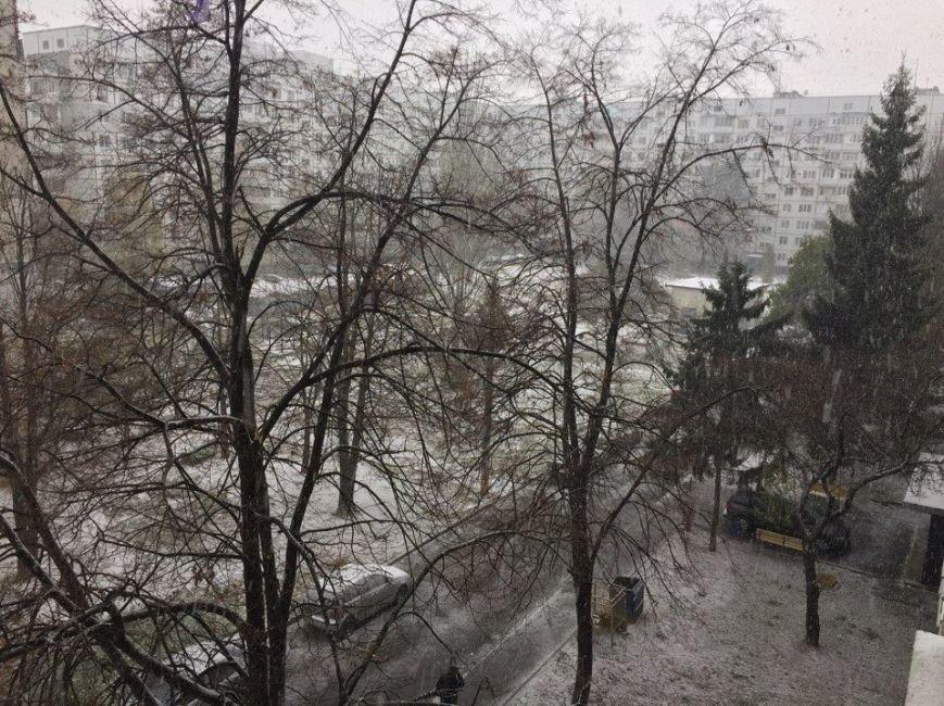 В Харькове выпал первый снег (ФОТО), фото-4