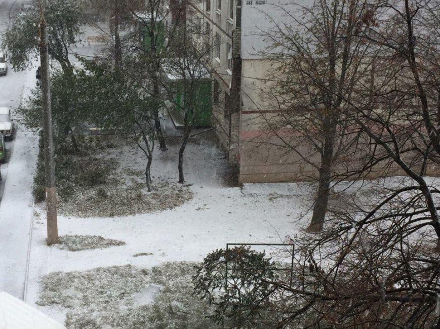 В Харькове выпал первый снег (ФОТО), фото-1