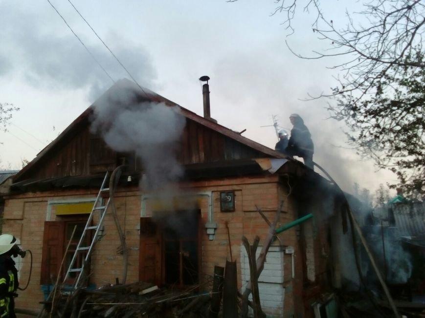 В областном центре горел дом (ФОТО), фото-1