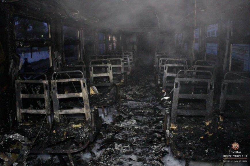 У Тернополі рятувальники гасили палаючий потяг (фото, відео), фото-2