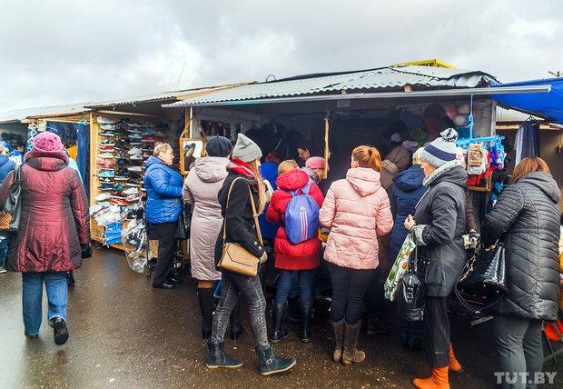 """""""У нас каждый день """"скидки"""": распродажа на """"Южном"""" рынке в Гродно не привлекла толпы покупателей, фото-10"""