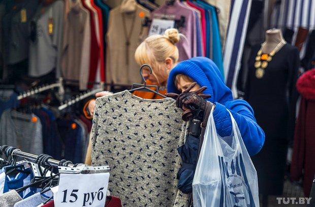 """""""У нас каждый день """"скидки"""": распродажа на """"Южном"""" рынке в Гродно не привлекла толпы покупателей, фото-9"""
