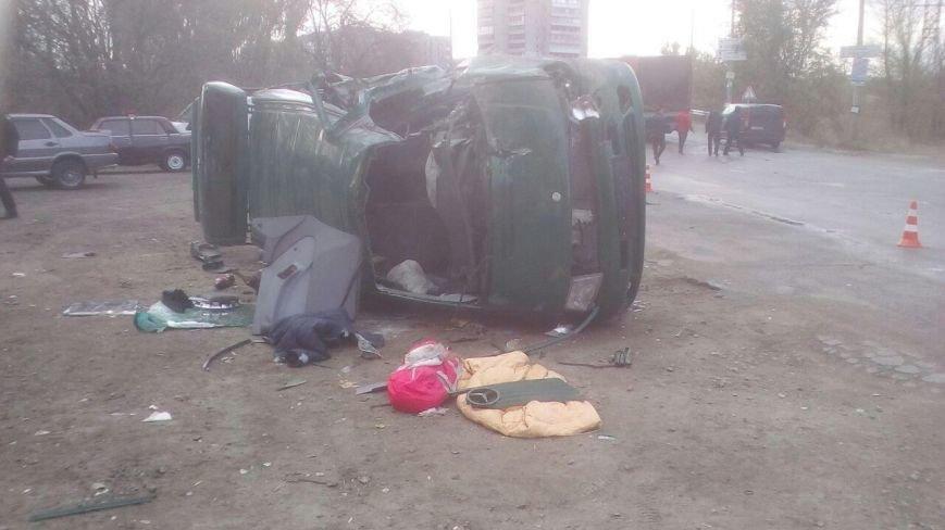 В Запорожье произошла жуткая авария: один человек погиб, пятеро в больнице, - ФОТО, фото-1
