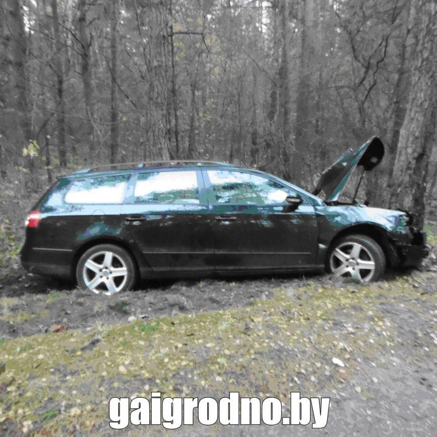 В Гродно студент взял у бабушки машину покататься и вместе с новой знакомой из ночного клуба пьяным врезался в дерево около Юбилейного озера, фото-5