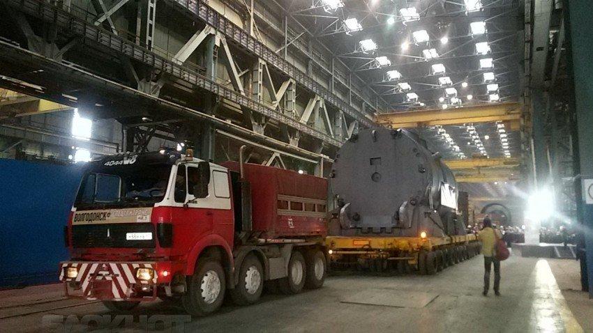 На Островецкую АЭС отправили корпус реактора для второго энергоблока, фото-1