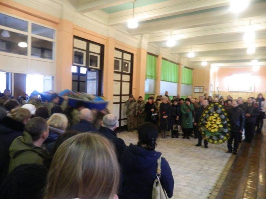 Новоград-волинці попрощалися з солдатами які загинули в зоні АТО під Маріуполем, фото-2