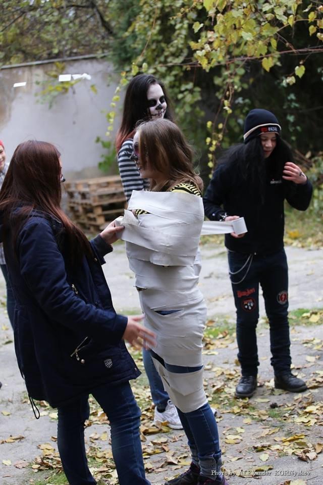 Херсонская молодёжь празднует Хэллоуин (фоторепортаж), фото-10