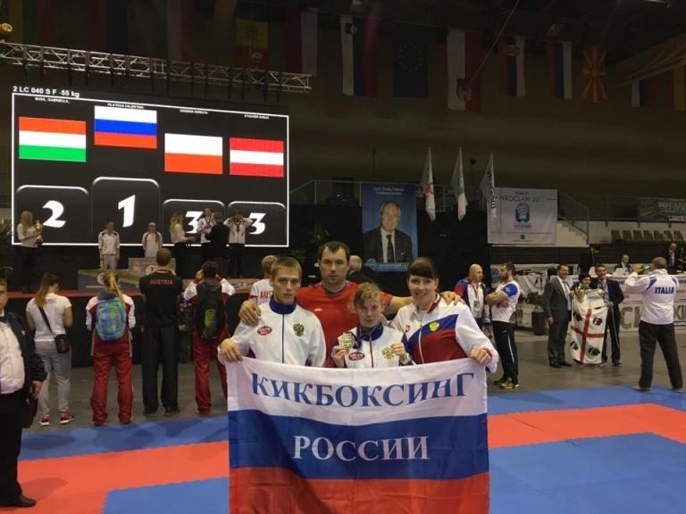 Полевчане завоевали «серебро» и «бронзу» чемпионата Европы по кикбоксингу, фото-1