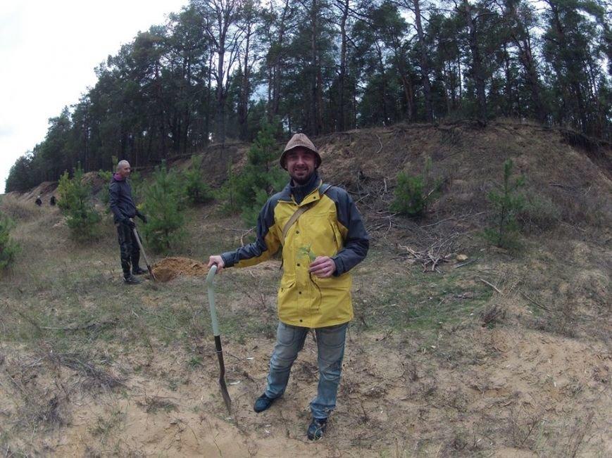"""В Матвеевском лесу прошла операция """"Дубы"""": активисты высадили сотню дубов (ФОТО), фото-2"""