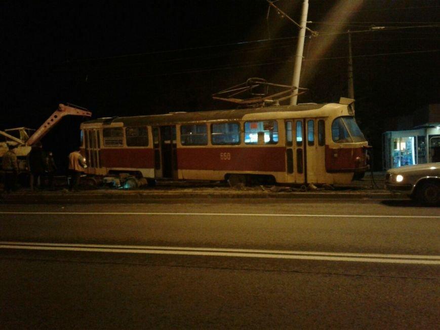 """На улице Шевченко произошел """"трамвайный дрифт"""" (ФОТО), фото-1"""