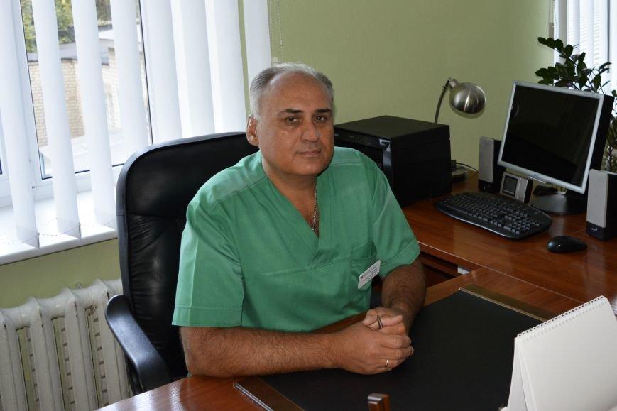 Марцевич А.А.  - заведующий отделением интенсивной терапии для кардиохирургии Запорожской облбольницы