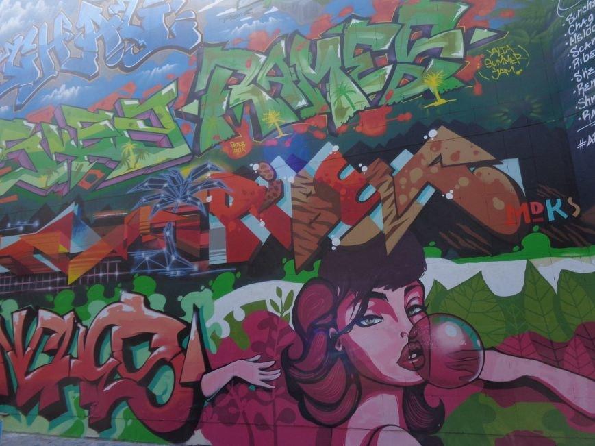 В Ялте власти организуют тотальную зачистку от граффити, фото-1