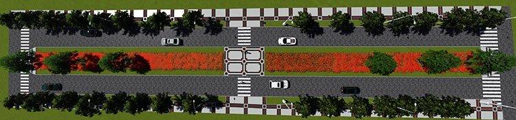 План реконструкції роздільної смуги на вулиці Князів Коріатовичів, фото-1