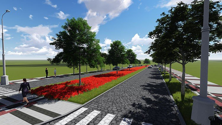 План реконструкції роздільної смуги на вулиці Князів Коріатовичів, фото-2