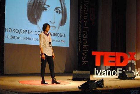 «Винаходячи себе заново». Спікерка конференції TEDx у Франківську про свою стратегію змін та секрети успіху, фото-1