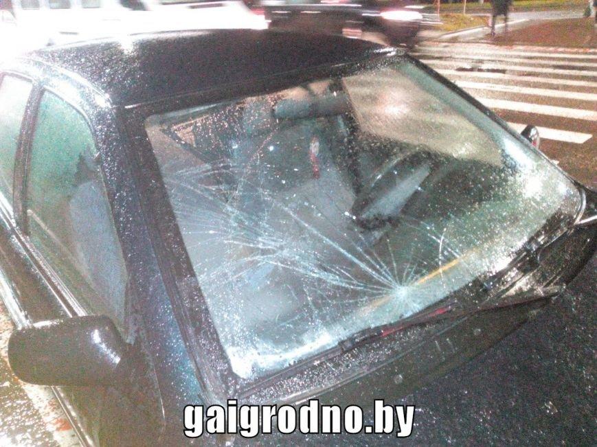 """В Гродно за вечер на """"зебрах"""" сбили двух пешеходов: пострадавшие в больнице (UPD: больше фото и подробности), фото-1"""