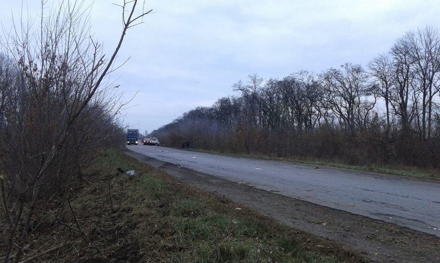 На Салтовском шоссе масштабная авария: перевернулся микроавтобус (ФОТО), фото-5