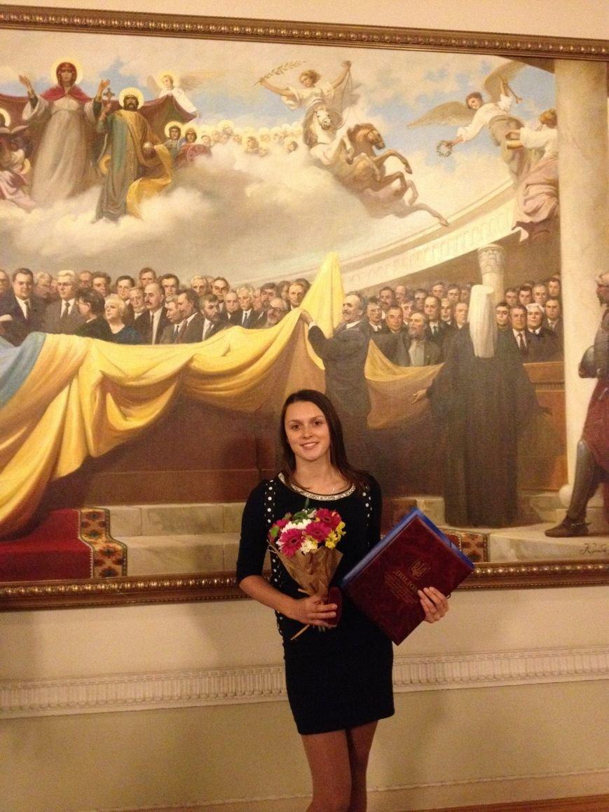 Прем'єр-міністр України вручив премію франківській студентці (ФОТО), фото-3
