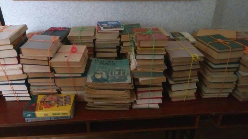 Мелитопольцы отправят книги бойцам в зону АТО, фото-1