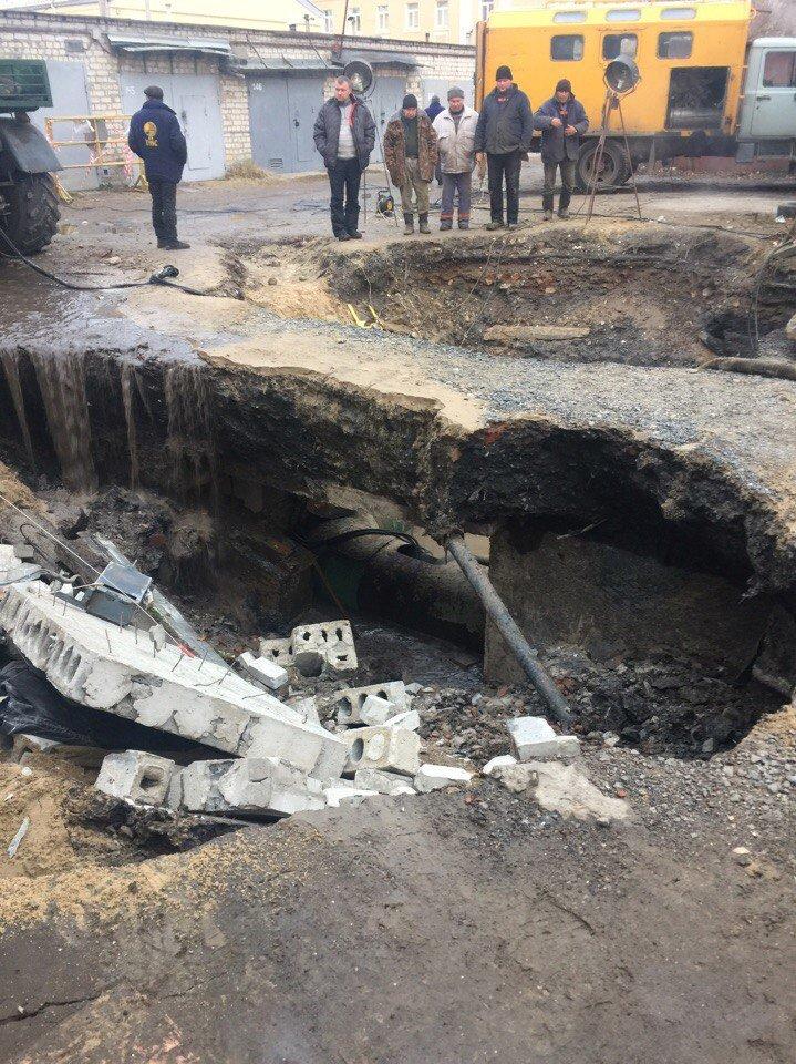 На Одесской прорвало теплопровод: два района остались без отопления (ФОТО), фото-1