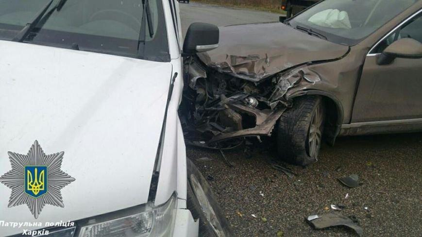 В Харькове машина ОБСЕ попала в ДТП: есть пострадавшие (ФОТО), фото-1