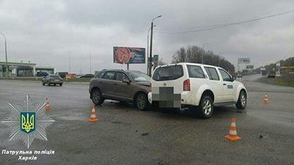 В Харькове машина ОБСЕ попала в ДТП: есть пострадавшие (ФОТО), фото-3