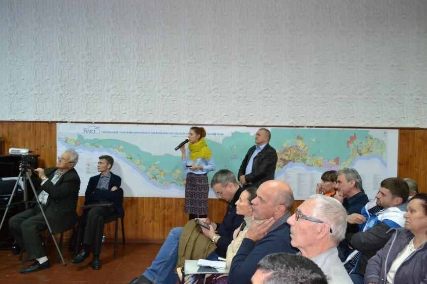 В Кореизе также прошли общественные слушания по проекту генерального плана Ялты, фото-6