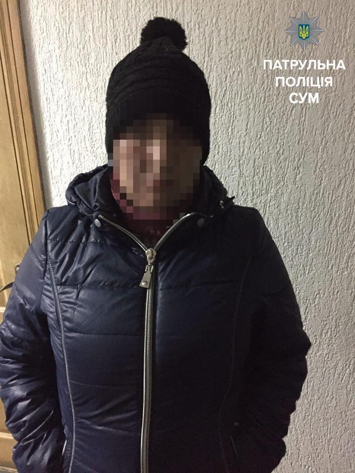 В Сумах патрульные задержали женщину, которая более года находится в розыске (ФОТО), фото-1