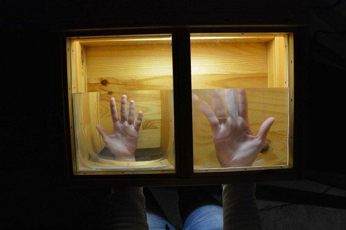 """В Гродно проходит выставка оптических иллюзий, где любой желающий может """"потрогать свет"""", фото-14"""