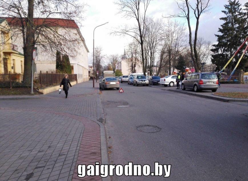 В Гродно пострадавшая девушка после аварии попросила не вызывать ГАИ, фото-1