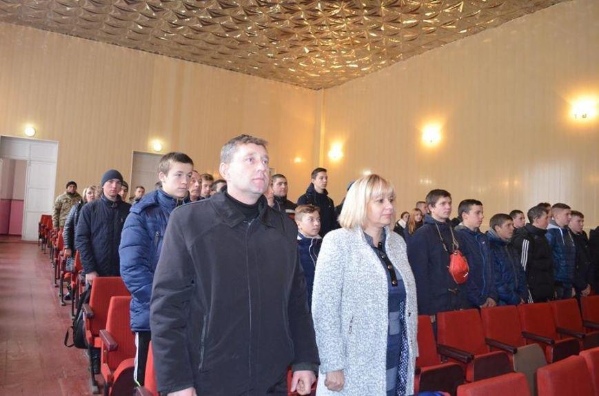 В Ярунському Будинку культури відбулися заходи військово-патріотичного виховання з учнями старших класів, фото-2