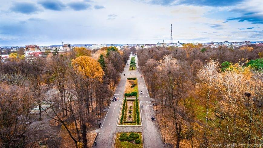 Осінній Франківськ із висоти пташиного польоту. Фото, фото-1