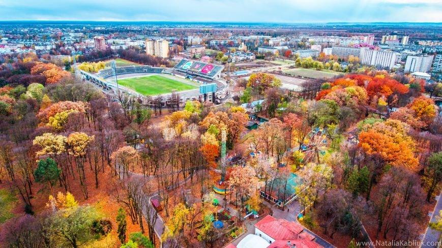 Осінній Франківськ із висоти пташиного польоту. Фото, фото-4