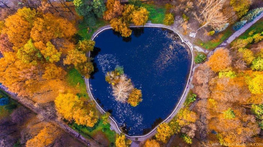 Осінній Франківськ із висоти пташиного польоту. Фото, фото-9