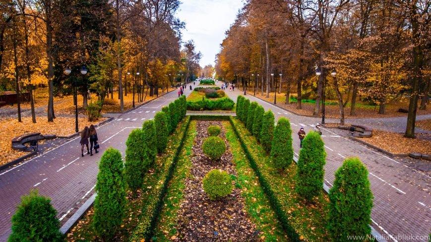 Осінній Франківськ із висоти пташиного польоту. Фото, фото-10