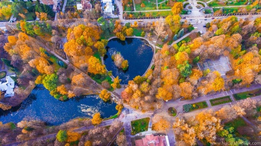 Осінній Франківськ із висоти пташиного польоту. Фото, фото-11