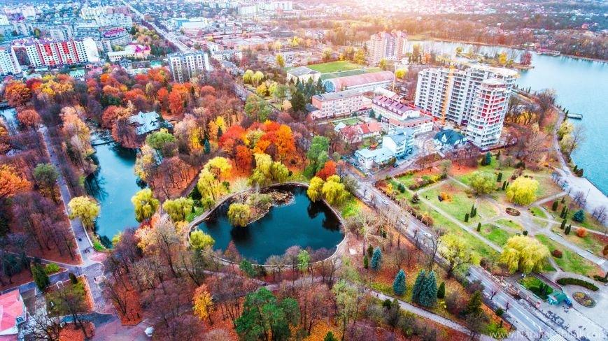 Осінній Франківськ із висоти пташиного польоту. Фото, фото-8