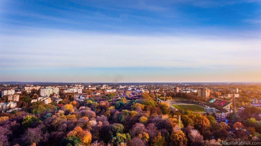 Осінній Франківськ із висоти пташиного польоту. Фото, фото-5