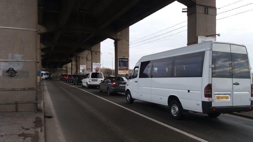 Запорожские велоактивисты заблокировали проезд по мосту Преображенского, - ФОТО, ВИДЕО, фото-5