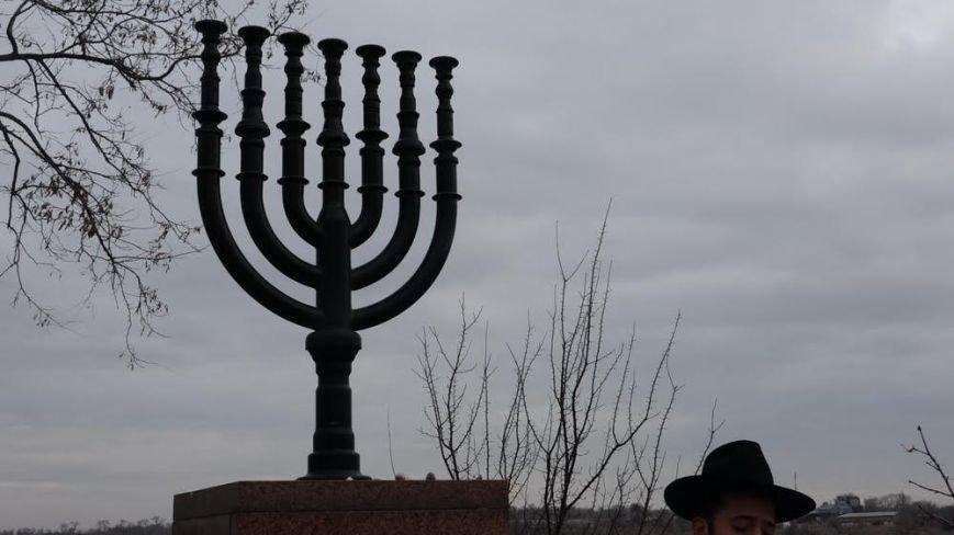 В поселке Агробаза под Мариуполем почтили память невинно убитых евреев (ФОТОРЕПОРТАЖ), фото-13