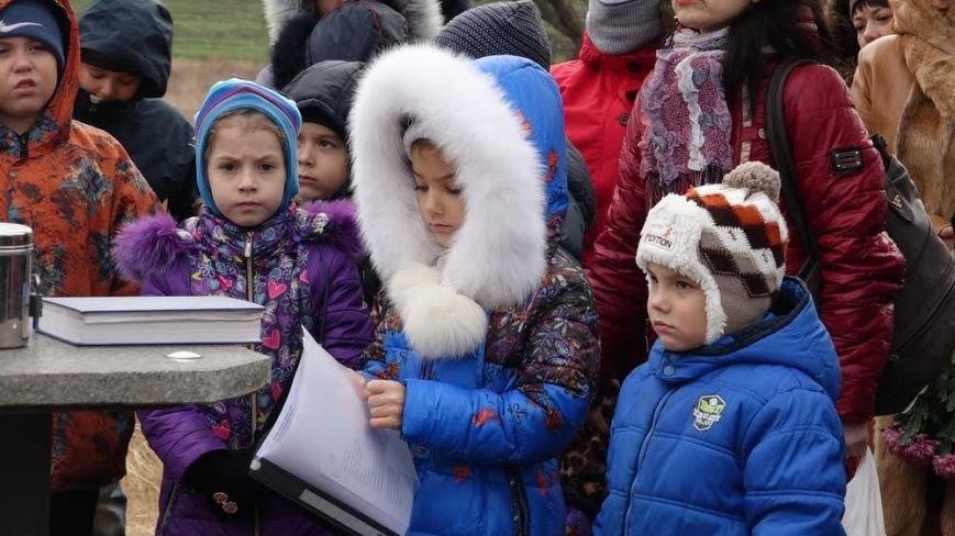 В поселке Агробаза под Мариуполем почтили память невинно убитых евреев (ФОТОРЕПОРТАЖ), фото-14