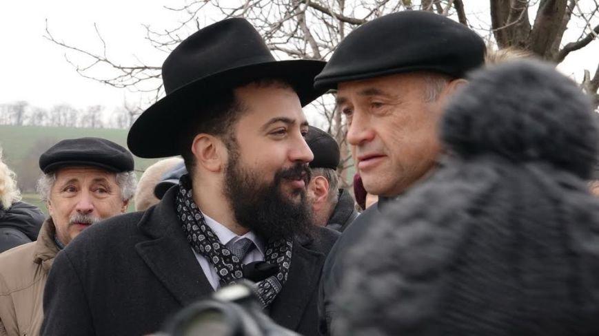 В поселке Агробаза под Мариуполем почтили память невинно убитых евреев (ФОТОРЕПОРТАЖ), фото-11