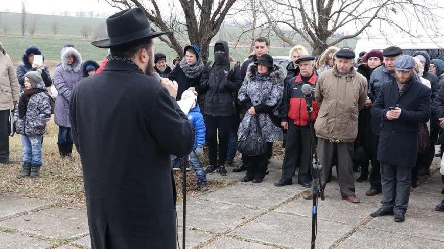 В поселке Агробаза под Мариуполем почтили память невинно убитых евреев (ФОТОРЕПОРТАЖ), фото-12