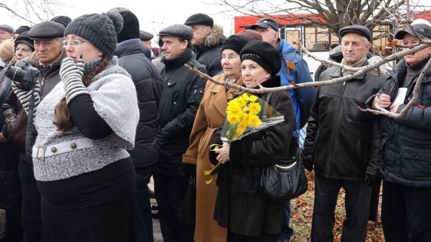 В поселке Агробаза под Мариуполем почтили память невинно убитых евреев (ФОТОРЕПОРТАЖ), фото-7