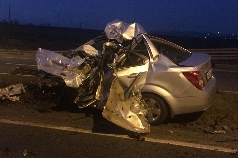 ВБелгородском регионе разбился насмерть 22-летний автомобилист